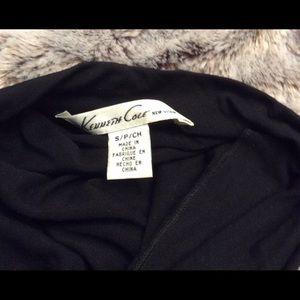 Kenneth Cole Midi Bodycon black dress.